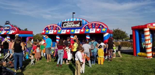 Midway carnival game rentals